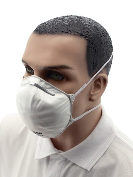 Atemschutzmaske FFP3 NR Halbmaske ohne Ventil