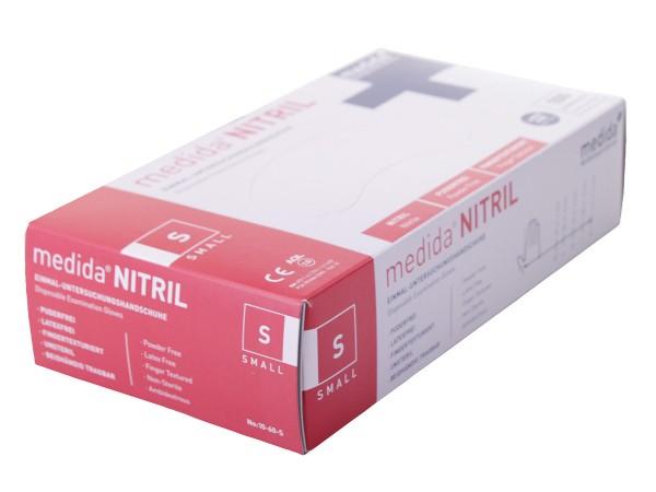 Nitril Einmalhandschuhe Typ Rettung 10-62-S
