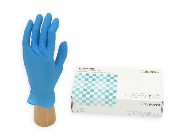 Unigloves Nitril Unicare soft Einmalhandschuhe