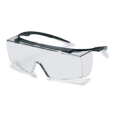 Überbrille uvex super f OTG, schwarz/weiß,