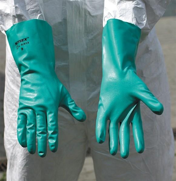 Nitril-Handschuhe EN 388 und EN 374