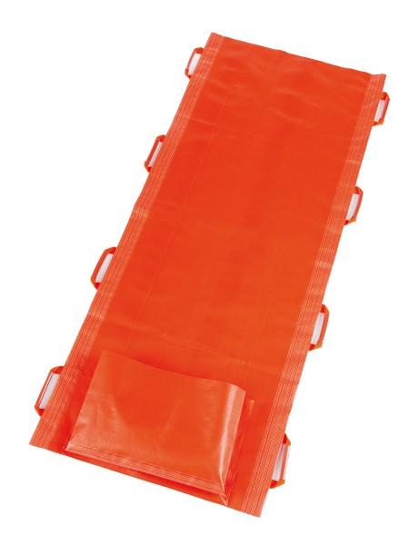Rettungstuch mit Fußsack, orange 08-839