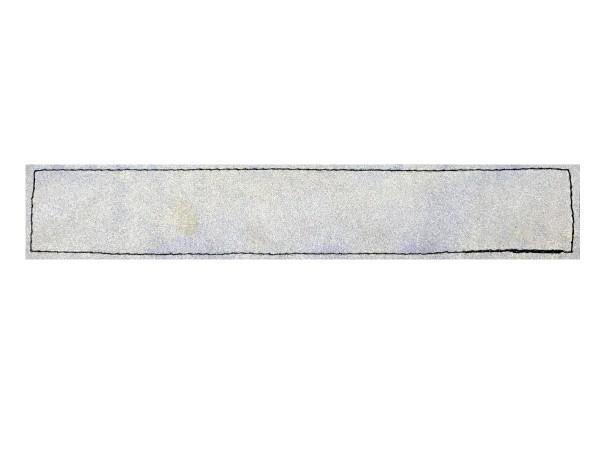 14,5 x 2,5 cm, matt silber