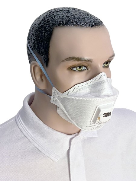 3M Atemschutzmaske 3M FFP2 mit/ohne Ventil